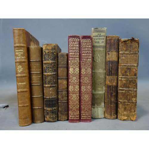537 - A collection of 19th and early 20th century French and English books (qty)...