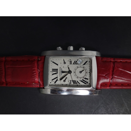 528 - A Longines Dolce Vita stainless steel chronograph, model no. L5.656.4, serial no. 30897535, the dial...