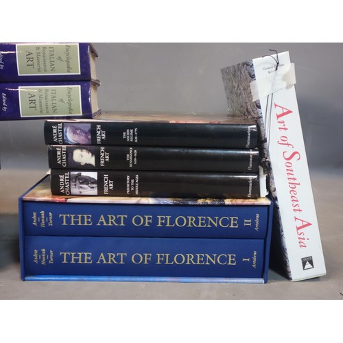 539 - A good collection of 15 art reference books to include tribal art and Mexican art