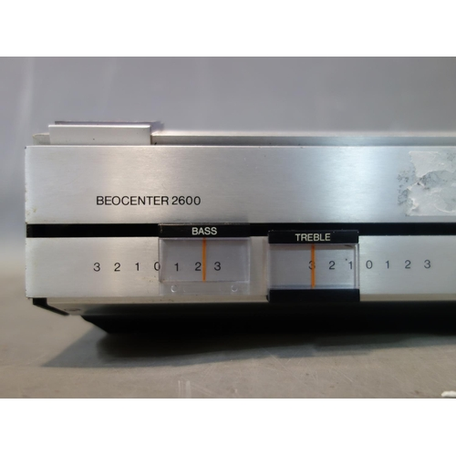 31 - A Bang & Olufsen BeoCenter 2600 radio and casette player, H.9.5 W.68 D.27cm...
