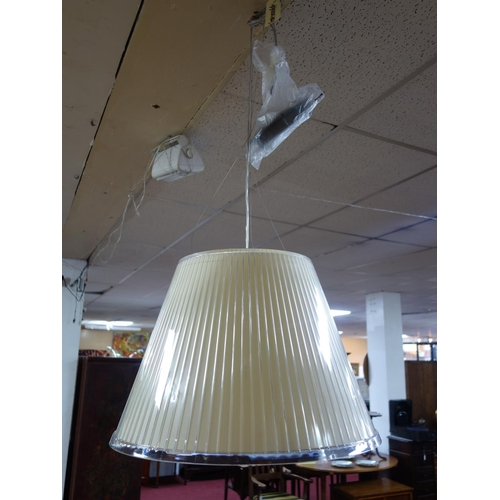 37 - An Artemide Tolomeo Mega pendant light designed by Matteo Thun, H.40cm Diameter 55cm...