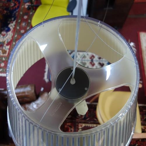 38 - An Artemide Tolomeo Mega pendant light designed by Matteo Thun, H.40cm Diameter 55cm...