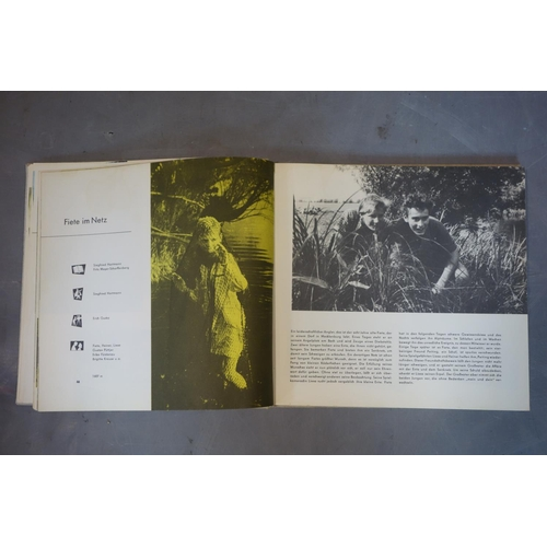 28 - Five vintage DDR books about films, locations and police...