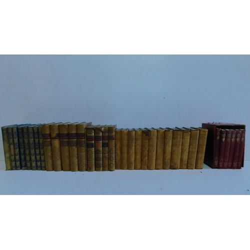 33 - Five Collections of books by different authors. 35 Books in total. To include 'The Dramatic Works of...