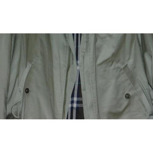 45 - Three various men's Burberrys jackets, size M....