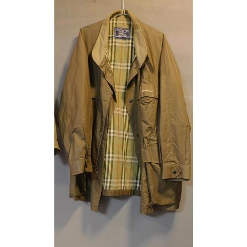 46 - Two men's Burberrys jackets, size M....