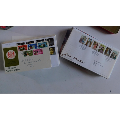 290 - A large and miscellaneous collection of 47 Royal Mail first day covers....