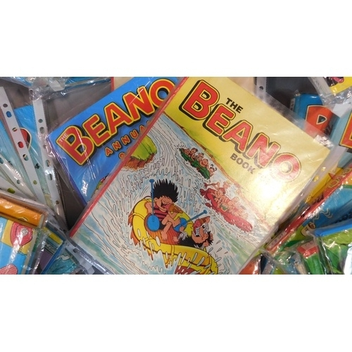 2 - A collection of twenty seven vintage Beano annuals. 1966, 1973-76, 1980-89, 1981-83 (repeats) 1991-1...