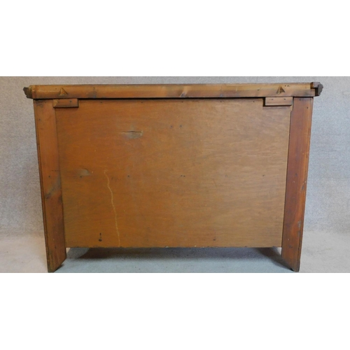 18 - A late 19th century carved walnut mirror backed sideboard. 195x135x47cm...