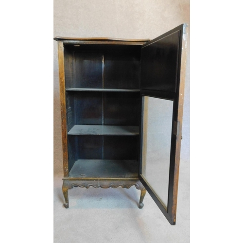 19 - Two Victorian beech music cabinets. 105x36x59cm...