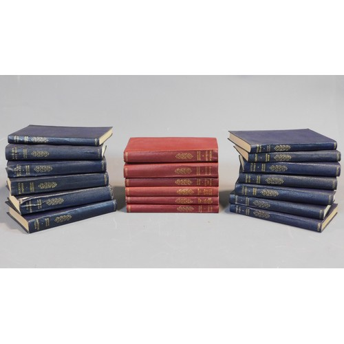 2 - A collection of books to include the poems of Scott, Wordsworth, Moore and Southey. 19x15cm (largest...