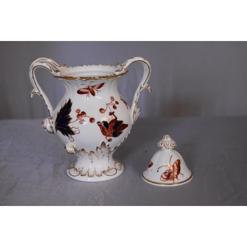 32 - A collection of hand painted porcelain and ceramics. One Herend Ash tray with floral design and gild...