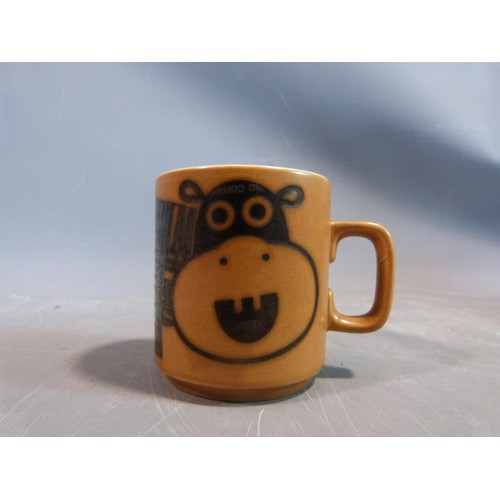 15 - A collection of 1970's Hornsea mugs designed by John Clappison, a studio pottery vase and three Port...