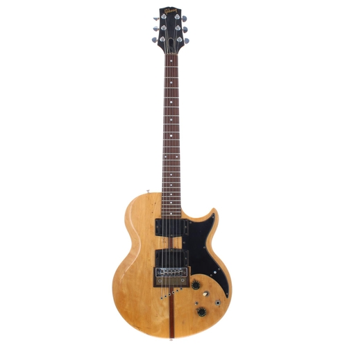 Rory Gallagher - modified Gibson L6S electric guitar, made in USA, ser. no. 962423, previously owned and played by Rory Gallagher