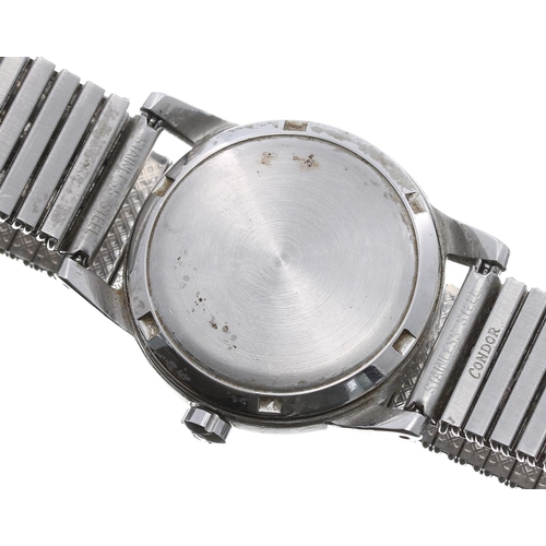 1 - Omega automatic 'bumper' stainless steel gentleman's wristwatch, ref. 2576-4, circa 1947-50, serial ...