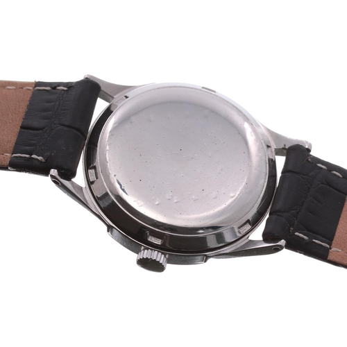 11 - Omega automatic 'bumper' stainless steel gentleman's wristwatch, ref. 2581-4, circa 1947-1950, seria...