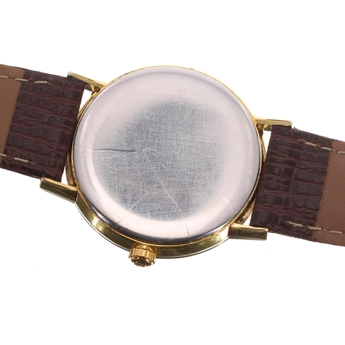 13 - Omega gold plated and stainless steel gentleman's wristwatch, ref. 132.00019, circa 1966, serial no....