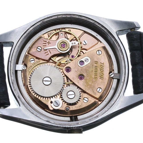 57 - Tudor Oyster Royal stainless steel gentleman's wristwatch, ref. 7803, circa 1950s, serial no.759xx, ...