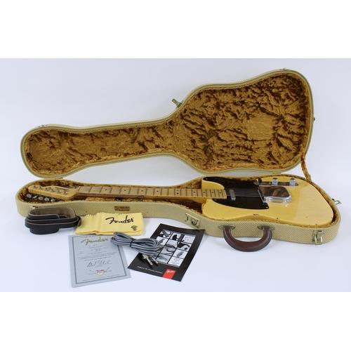 1 - 2001 Fender Custom Shop 1951 'Nocaster' Relic electric guitar, made in USA, ser. no. R3xx8; Finish: ...