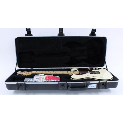 10 - 2011 Fender 60th Anniversary Modern Thinline Telecaster electric guitar, made in USA, ser. no. US11x...