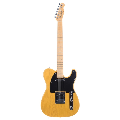 11 - 2010 Fender American Deluxe Telecaster electric guitar, made in USA, ser. no, US10xxxxx7; Finish: bu...