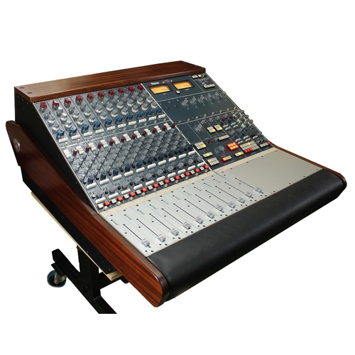 Neve BCM10/2MK2 10 channel analogue mixing console, made in UK, with upgrade 1073 classic hand wired microphone pre-amps on channels 1 to 8 and standard 1073N pre-amps on channels 9 and 10, with roll around stand, Neve 1073N PSU units and external mounting enclosures, with external BCM10 MK2 rack mountable power supply *This console was purchased new by the vendor approximately five years ago to the value of £61474.80. This includes the ten channel analogue console with the standard 1073Ns to the value of £53940, the eight upgraded hand wired 1073 mic pre-amps to the value of £5760, the roll around stand to the value of £1500 and the 1073N PSU units and external mounting enclosures to the value £274.80. This mixer is in superb condition and in full working order
