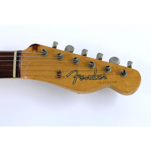 2 - 2002 Fender Custom Shop 1963 Telecaster Relic electric guitar, made in USA, ser. no. R1xxx4; Finish:...