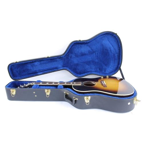 27 - 2010 Gibson J-160E electro-acoustic guitar, made in USA, ser. no. 1xxx0xx7; Finish: vintage sunburst...