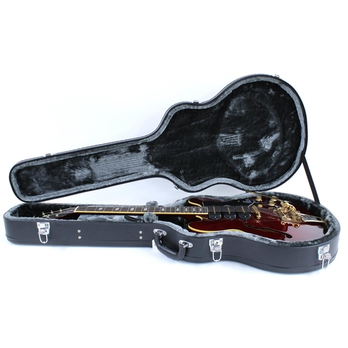 29 - 2017 Epiphone Limited Edition Riviera P93 semi-hollow body electric guitar, made in China, ser. no. ...