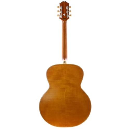 33 - 2016 Epiphone Masterbilt De Luxe electro-acoustic guitar, made in Indonesia, ser. no. 16xxxxxxx4; Fi...
