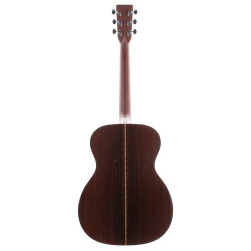 37 - 2005 C.F. Martin & Co 000-28 acoustic guitar, made in USA, ser. no. 1xxxxx1; Back and sides: ros...