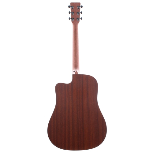 38 - 2003 C.F. Martin & Co DCX1E electro-acoustic guitar, made in USA, ser. no. 9xxxx3; Back and sides: m...