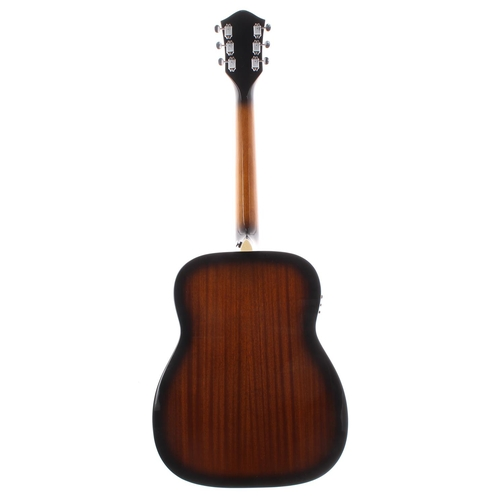 44 - 2015 Silvertone 633E/AVS electro-acoustic guitar, made in Indonesia, ser. no. SI15xxxxxx5; Finish: v...