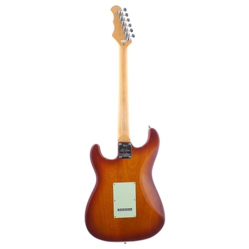 50 - 2018 Burns Club Series King Cobra electric guitar, ser. no. 18xxxx3; Finish: amber burst; Fretboard:...