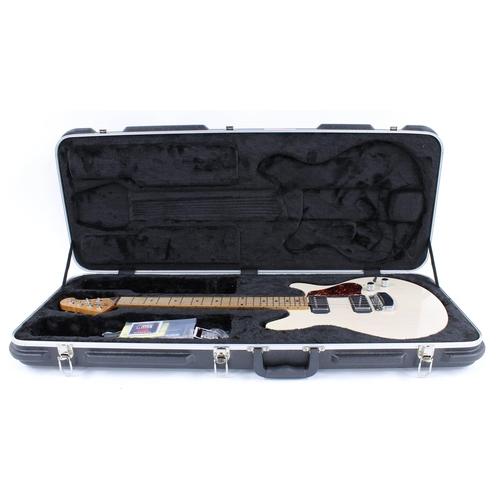 54 - 2016 Ernie Ball Music Man Valentine electric guitar, made in USA, ser. no. G7xxx5; Finish: trans but...