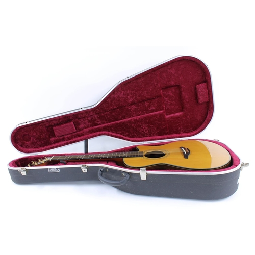 58 - Stonebridge by Frantisek Furch G23CR-C electro-acoustic guitar, made in Czech Republic; Back and sid...