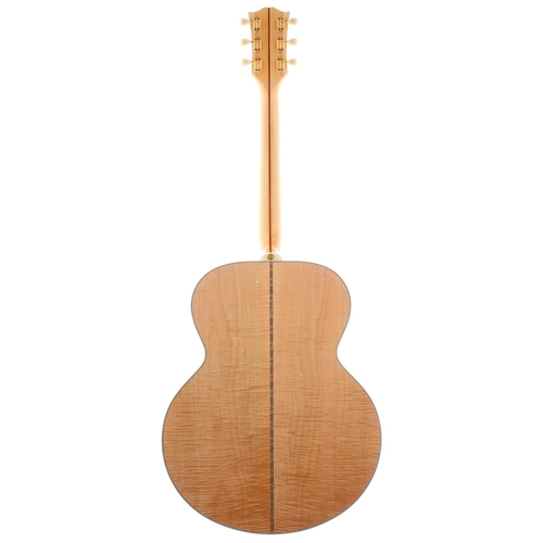 60 - 1996 Gibson J200 acoustic guitar, made in USA, ser. no. 9xxx6xx7; Back and sides: maple; Top: natura...