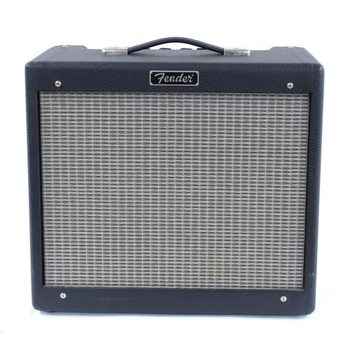 604 - Fender Blues-Junior guitar amplifier, made in USA, ser. no. B-131697