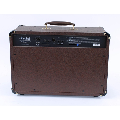 606 - 2004 Marshall Acoustic Soloist AS50R guitar amplifier, made in China