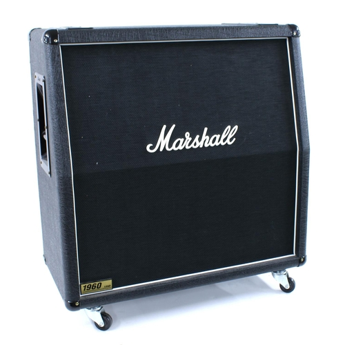 614 - 2010 Marshall 1960A 4 x 12 guitar amplifier speaker cabinet, made in England