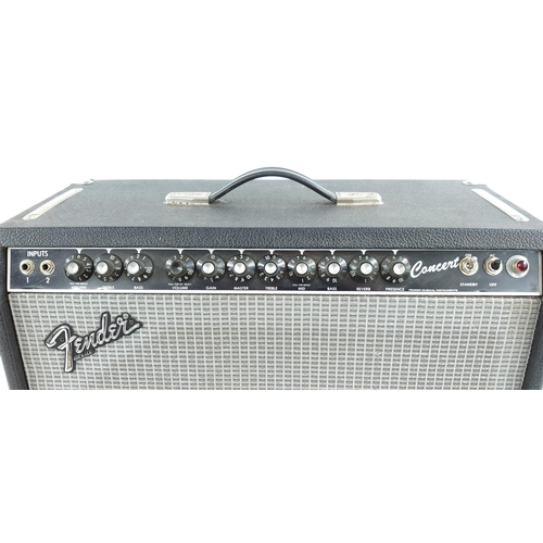 639 - Fender Concert guitar amplifier, made in USA, circa 1983, ser. no. F317080