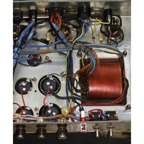 646 - Marshall JMP Major Plexi front 200 watt guitar amplifier head, made in England, circa 1969, ser. no....