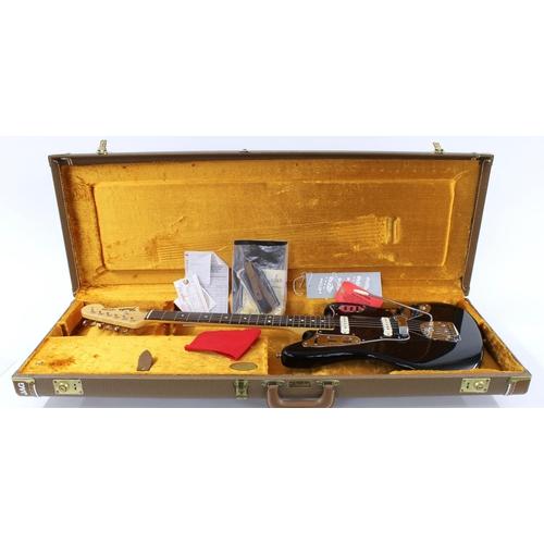 7 - 2002 Fender American Vintage '62 reissue Jaguar electric guitar, made in USA, ser. no. V1xxxx0; Fini...