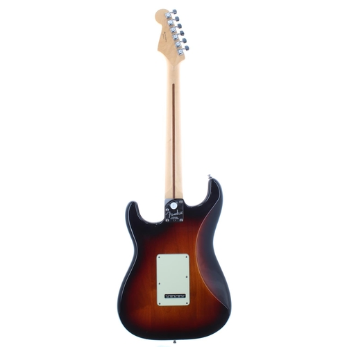 9 - 2011 Fender American Deluxe HSS Stratocaster electric guitar, made in USA, ser. no. US11xxxxx1; Fini...