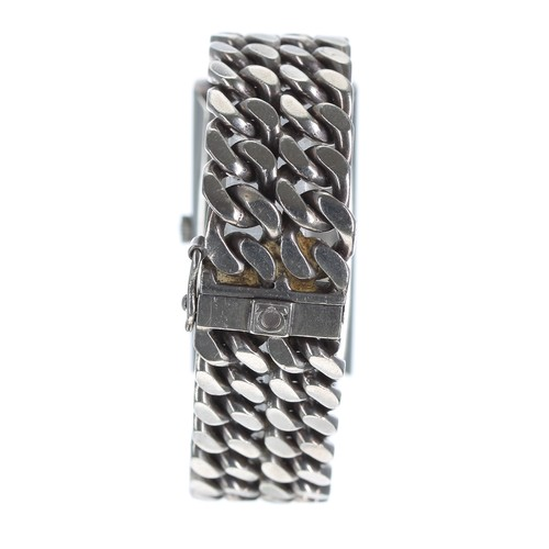 6 - Omega De Ville silver unisex wristwatch, ref. 8269, circa 1972, serial no. 35926xxx,bevelled glass,...