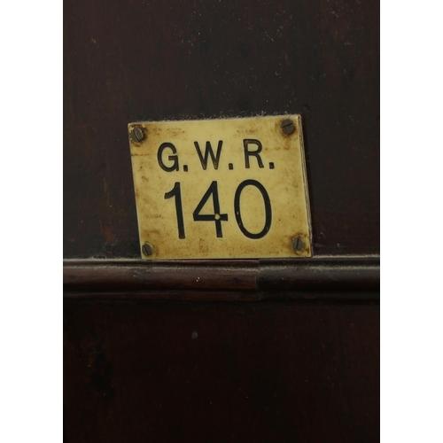 1013 - Great Western Railway (G.W.R) mahogany single fusee 12