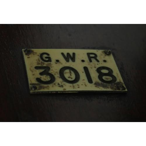 1032 - Great Western Railway (G.W.R) mahogany single fusee 14