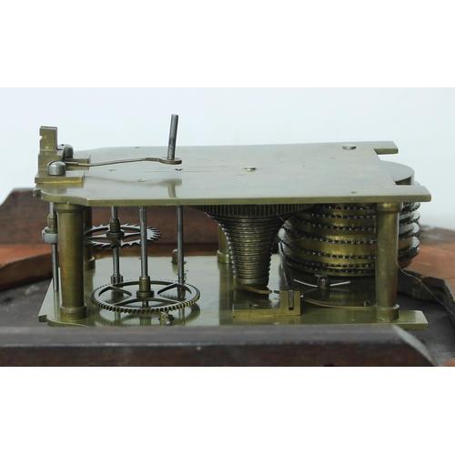 1033 - Great Western Railway (G.W.R) mahogany single fusee 12