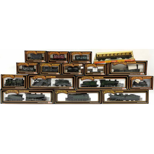 1059 - Mainline Railways 00 gauge model locomotives, carriages and rolling stock including cat nos. 54156, ...