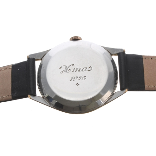 3 - Omega gold plated and stainless steel gentleman's wristwatch,ref. 2792-4SC, serial no. 14162xxx, ci...